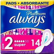 ALWAYS Platinum Ultra Super Plus Duopack, 14 db - Tisztasági betét