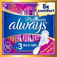 ALWAYS Platinum Ultra Night Duopack, 12 db - Tisztasági betét