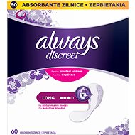ALWAYS Discreet Liner Long, 60 db - Inkontinencia betét