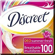 DISCREET Multiform Summer Fresh 100 db - Egészségügyi betét