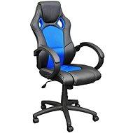 HAWAJ MX Racer kék és fekete irodai szék - Irodai fotel