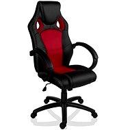 Hawaii MX Racer irodai szék piros / fekete - Gamer szék