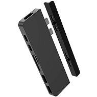 HyperDrive DUO 7  2 USB-C Hub - MacBook Pro / Air, szürke - Port replikátor
