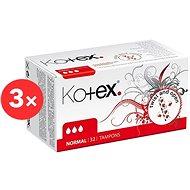 KOTEX Normal 3 × 32 db - Tampon