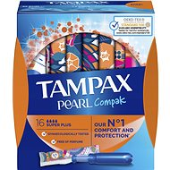 TAMPAX Pearl Compak Super Plus 16 db - Tamponok