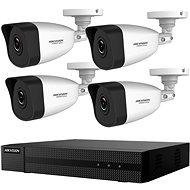 HikVision HiWatch HWK-N4142BH-MH, KIT, 2MP, felvevőkészülék + 4 kamera, 4ch, 1TB HDD - Kamerarendszer