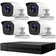 HikVision HiWatch HWK-T4142BH-MP, KIT, 2MP, felvevőkészülék + 4 kamera, 4ch, 1TB HDD - Kamerarendszer