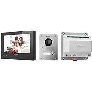 HIKVISION DSKIS701 (EU) B DSKV8103IME2 x 1; DSKH8340TCE2B x 1; DSKAD709 x 1 - Videótelefon