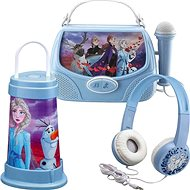 Játék szett Frozen II Szett - fejhallgató, lámpás, karaoke box