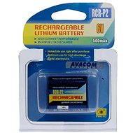 AVACOM a CR-P2 lithium 6V 500mAh akkumulátor helyettesítésére, fekete - Fényképezőgép akkumulátor