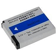 Avacom - GoPro AHDBT-001, AHDBT-002 Li-ion 3.7 V 1100 mAh 4.1Wh készülékekhez - Kamera akkumulátor