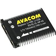AVACOM az Olympus Li-40B, Li-42B Li-ionhoz 3.7V 740mAh 2.7Wh AVA helyettesítésére - Fényképezőgép akkumulátor