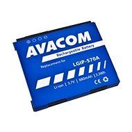 Avacom akkumulátor LG KP500 készülékhez, Li-Ion 3.7V 880mAh (LGIP-570A helyett) - Mobiltelefon akkumulátor
