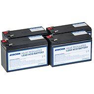 Avacom akkumulátor készlet RBC133 felújításhoz (4 db elem) - Csere akkumulátor