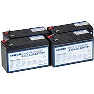 Avacom akkumulátor készlet RBC59 felújításhoz (4 db elem) - Csere akkumulátor