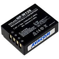 AVACOM akkumulátor, Fujifilm NP-W126, Li-ion, 7,2 V, 1100 mAh, 7,9 Wh - Fényképezőgép akkumulátor