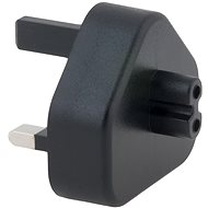 AVACOM G típusú aljzat (Egyesült Királyság) USB-C töltőkhöz, fekete