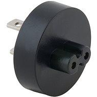AVACOM Type A (US) hálózati csatlakozó USB-C töltőkhöz, fekete - Úti adapter