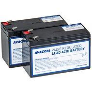 AVACOM RBC33 csere akkumulátor készlet (2 db akkumulátor) - Elem készlet