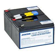 AVACOM helyettesítő UPS akkumulátor RBC6 - Elem készlet