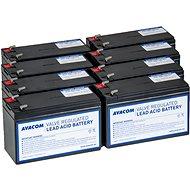 AVACOM akkumulátor készlet a felújított RBC105-höz (8db akkumulátor) - Elem készlet