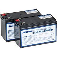 AVACOM akkumulátor készlet a felújított RBC124-hez (2db akkumulátor) - Elem készlet