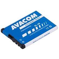 AVACOM akkumulátor Nokia 6111 készülékhez, Li-Ion 3,7V 750mAh (BL-4B helyett) - Mobiltelefon akkumulátor