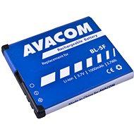 AVACOM akkumulátor Nokia N95, E65, Li-Ion 3,6V 1000mAh (BL-5F helyett) - Mobiltelefon akkumulátor