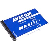 AVACOM Nokia 5530, CK300, E66, 5530, E75, 5730, Li-ion 3,7V 1120mAh (BL-4U helyett) - Mobiltelefon akkumulátor
