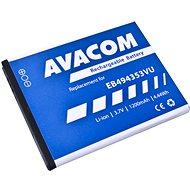 AVACOM Samsung EB494353VU helyett Li-ion 3,7V 1200mAh Galaxy GT-5570 minihez - Mobiltelefon akkumulátor