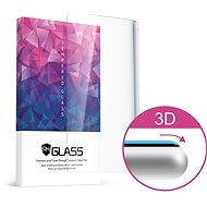 Icheckey 3D Curved Tempered Glass Screen Protector iPhone XS Max készülékhez, fekete - Képernyővédő