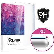 Icheckey 3D Curved Tempered Glass Screen Protector Samsung Galaxy S9+ készülékhez fekete - Képernyővédő