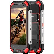 iGET Blackview GBV6000S Red - Mobiltelefon