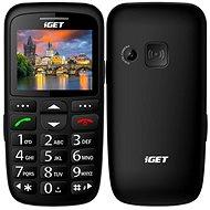 iGET Simple D7 fekete - Mobiltelefon