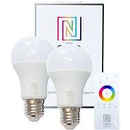 Immax Neo LED E27 A60 8.5W 2db + vezérlő - LED izzó