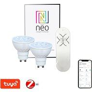 Immax Neo LED GU10/230V 4.8W 2db + vezérlő - LED izzó