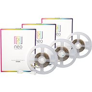 Immax Neo RGB + CCT LED szalag 1m 3db - LED szalag