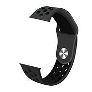IMMAX SW10, SW13, Apple watch-hoz, fekete - Szíj