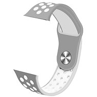 IMMAX SW10, SW13, órához, Apple watch-hoz, szürke-fehér - Szíj