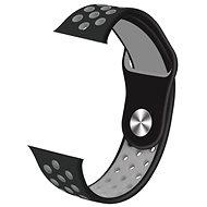 IMMAX SW10, SW13, Apple watch órákhoz, szürke-fekete - Szíj