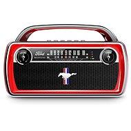 ION Mustang Stereo Red - Bluetooth hangszóró