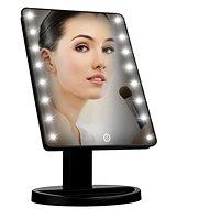 iMirror kozmetikai sminktükör LED pontfényszóróval, fekete - Sminktükör