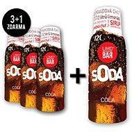 LIMO BAR szirup - 3+1 Cola csomag - Ízesítő keverék