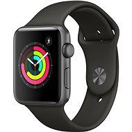 Apple Watch Series 3 42 mm-es GPS kozmikus szürke alumínium szürke sport heveder - Okosóra