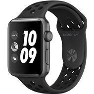 Apple Watch Series 3 Nike+ 42mm GPS asztroszürke alumínium antracit-fekete Nike sportszíjjal - Okosóra