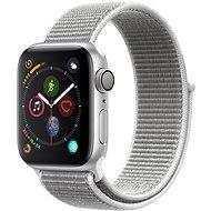 Apple Watch Series 4 40mm ezüstszínű alumínium kagylófehér sportpánttal - Okosóra