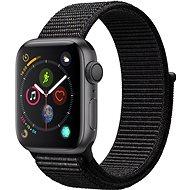 Apple Watch Series 4 40mm asztroszürke alumínium fekete sportpánttal - Okosóra
