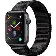 Apple Watch Series 4 44mm asztroszürke alumínium fekete sportpánttal - Okosóra