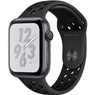 Apple Watch Series 4 Nike+ 44mm asztroszürke alumíniumtok antracit-fekete Nike sportszíjjal - Okosóra