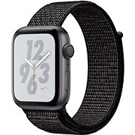 Apple Watch Series 4 Nike+ 44mm asztroszürke alumíniumtok fekete Nike sportpánttal - Okosóra